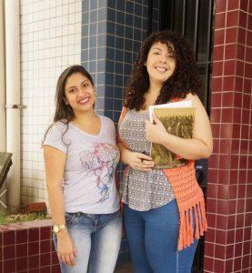 Bolsistas PREX 2016 - Elane e Bárbara