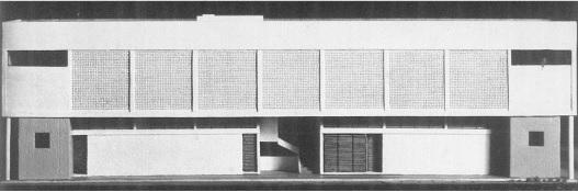 Foto Maquete da PREX 1961 (parte de trás)