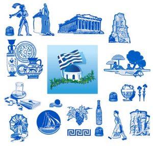 Grécia e seus elementos