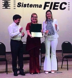 """Homenagem à Profª. Márcia Machado - """"Madrinha da Amamentação do Ceará"""""""