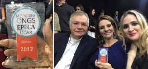 Prêmio 100 Melhores ONGs Brasileiras concedido ao Iprede