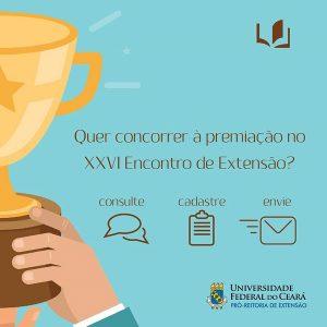 Quer concorrer à premiação no XXVI Enc. de Extensão?
