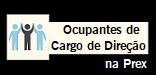 Ocupantes de Cargo de Direção na Prex