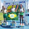 Lucas Lisboa vence as modalidades de Decatlo e Salto com Vara (Foto: Karine Colares).